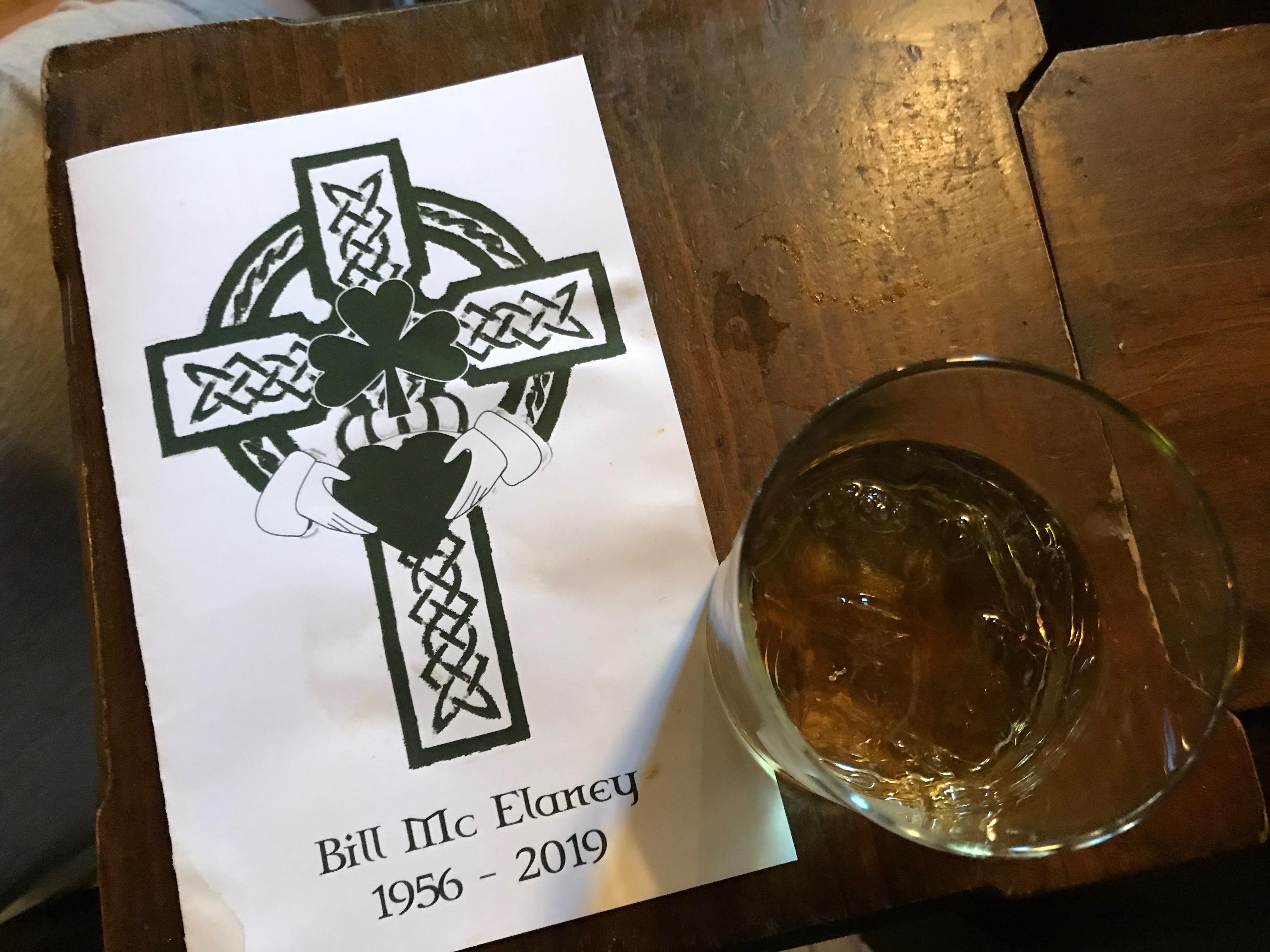Bill McElaney, 1956 - 2019