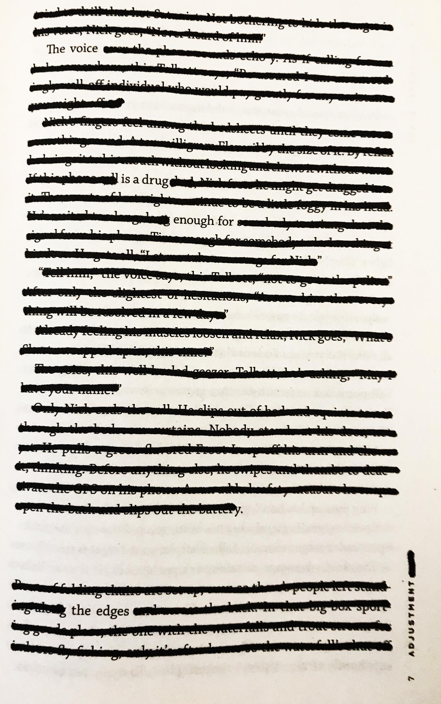 Adjustment, page 7