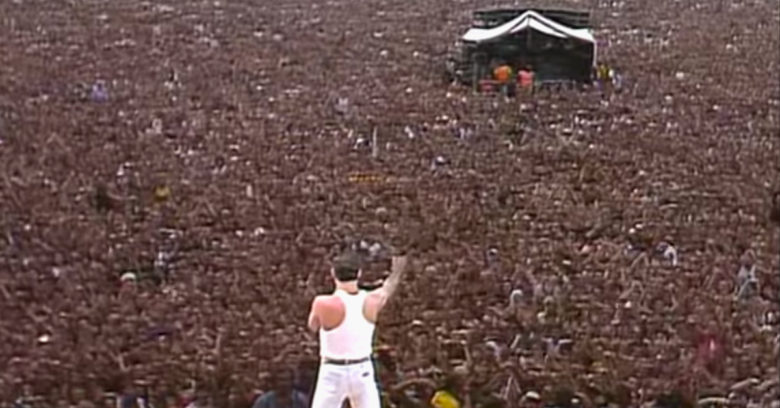 Queen at Live Aid Turns 35 | toddregoulinsky.com