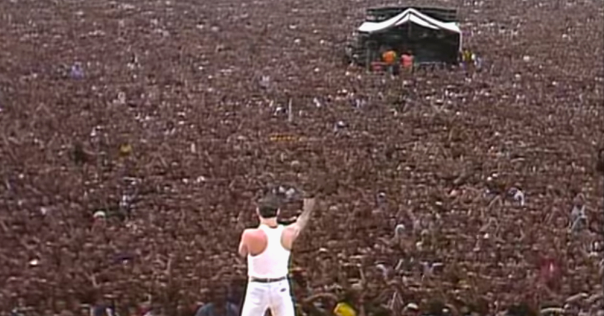 Queen At Live Aid Turns 35