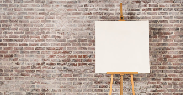 beware the blank canvas | toddregoulinsky.com