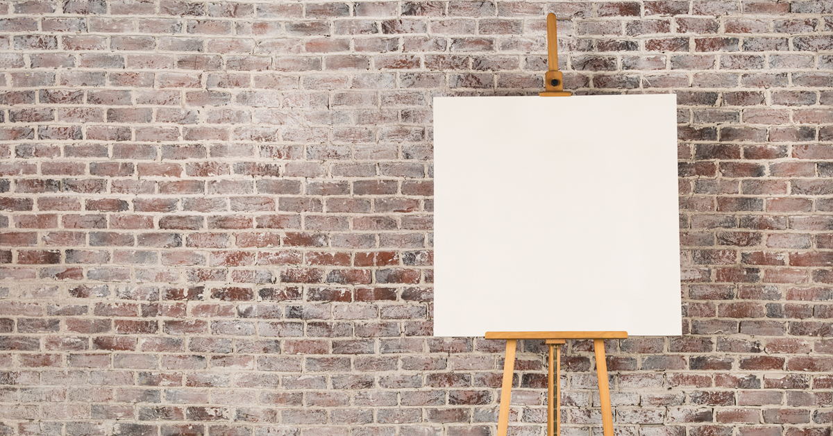 Beware The Blank Canvas