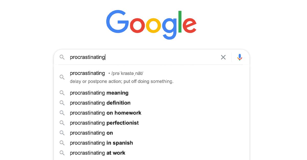 a procrastination fascination | toddregoulinsky.com